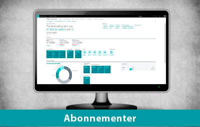 Abonnementer - Dynamics 365 Business Central
