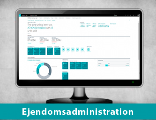 Nem ejendomsadministration i Dynamics 365 Business Central