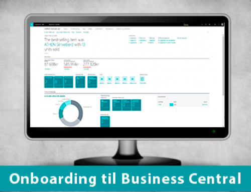Onboarding til Dynamics 365 Business Central