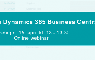 Webinar - whats new i Dynamics 365 Business Central